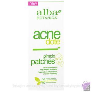 Invisible ACNE PIMPLE PATCH face spot treatment Alba Botanica ACNE DOTE 10-40pcs