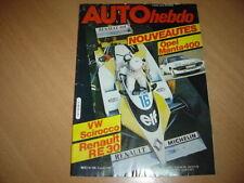 Auto hebdo N°256 Lotus 88.Hans Heyer