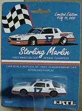 Ertl Limited Edition Sterling Marlin 1983 Winston Cup 1:64scale Championship car