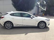 Mazda 3 or 2 BM 2014 current model GT racing stripes/decal/graphics full colors