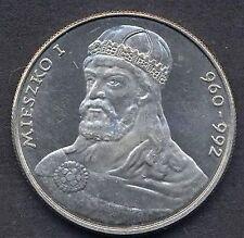 POLAND 50 Zlotych 1979 Duke Mieszko I   UNC