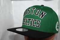Boston Celtics Mitchell & Ness NBA Wordmark Snapback,Hat,Cap        $ 34.00 NEW