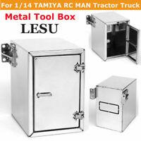 LESU Metal DIY Tool Box A for 1/14 TAMIYA RC MAN Tractor Truck RC Car G-6136 NEW