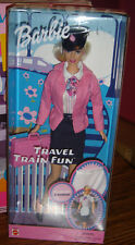 Travel Train Fun Barbie – NEW