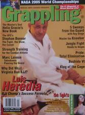 9/05 GRAPPLING MAGAZINE LOUIS HEREDIA HELIO GRACIE MIXED MARTIAL ARTS KARATE