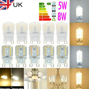 G9 25W/40W/60W/5W LED Halogen Bulbs Dimmable Capsule 2835 SMD Replace Light Bulb