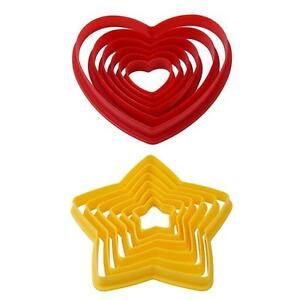 Plastic Biscuit Mould Pineapple Mould Tool Home Heart-shaped Cookie Supply Die