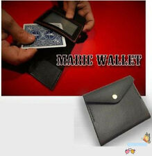 The Maric Wallet by Mr. Maric - Magic Tricks,Card Magic,Close Up,Fun,Gimmick