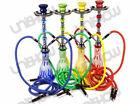 21″ Pumpkin DoubleHookah Glass Water Pip Vase Smoking Nargila - Free Shipping