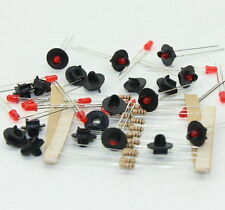 JTD16 10 sets Target Faces With LEDs for Railway signal HO OO TT Scale 1 Aspect