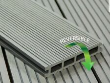 Grey Composite Decking - 3.6m 150mm 25mm - Anti Slip - Reversible Boards