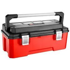 "Facom Professional Plastic Tool Box "" Bright Red & Black """