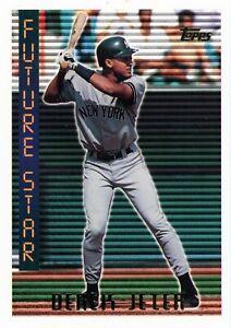 DEREK JETER FUTURE STARS 1995 TOPPS #199 NEW YORK YANKEES THE CAPTAIN