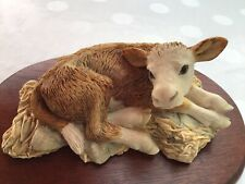 More details for border fine arts    all creatures great and small  buttercup cow   1972