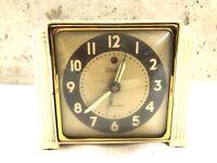 Art Deco Telechron 7H91 Electric Alarm Clock