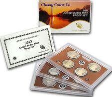 2013 S US Clad Proof Set ☆☆ 14 Coins ☆☆ ATB Quarters ☆☆ OGP & COA