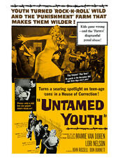 Fifties - Untamed Youth movie poster reprint (1957)