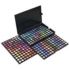 Paleta De Sombras De Ojos Colores Brillo Metalico Maquillaje Profesional Makeup
