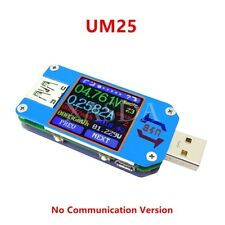 Color LCD Display USB Tester Voltage Current Meter Ammeter+Type-C Micro USB Port