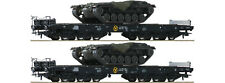 Roco 76161 Schwerlastwagen-Set 2-tlg. mit M48 Panzerwannen DB  DC  H0 ausverkauf