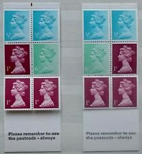 Machin - 10p folded booklet - MISCUT - FA3a  - unmounted mint Good Perfs