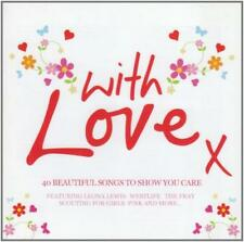 With Love X (40 Beautiful Love Songs To Show You Care) (2CD)