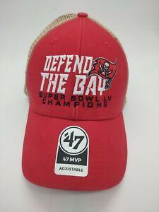 Tampa Bay Buccaneers '47 Brand Super Bowl LV Champions 21 red MVP Hat snapback