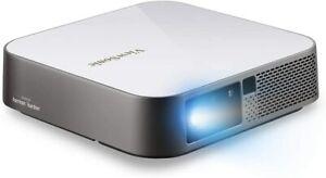 ViewSonic M2e Full HD 1080p Smart Portable LED Projector Harman Kardon Audio