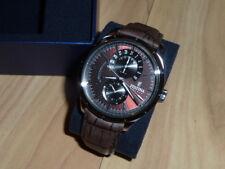 Edle FESTINA F16573/6 Herren Uhr * Edelstahl * Leder Armband braun * OVP