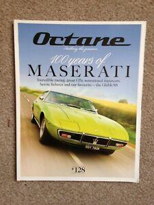 Octane Car Magazine 100 years of Maserati Issue 128 February 2014 (A2039)