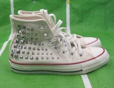 Converse Chuck Taylor All Star Hi 540367C ct collar studs egret  Men 5.5 Wo 7.5