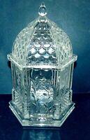 Shannon Crystal Gazebo Candy Jar Designs of Ireland Large Heavy Sparkling