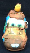 "Tow Mater Truck Disney Pixar Cars Brown Blue 2005 Mattel Plush 7"" Toy No Sound"