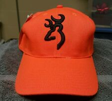 Browning Flex-Fit Blaze Orange Hunting Hat