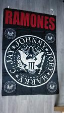 The Ramones logo punk band RARE hardrock music Vintage poster FLAG