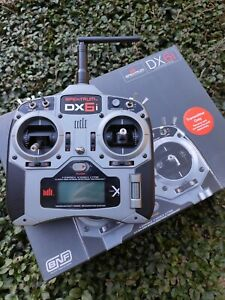 tx radiocomando Spektrum DX6i mode 2