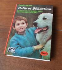 1975 Belle et Sébastien Aubry Galaxie livre enfants vintage enfantina