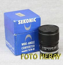 Sekonic S-resonar CW 6,5 - 17 mm 1:1,8 con rosca 35mm 02329
