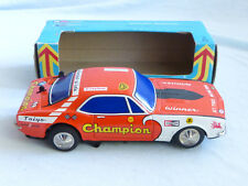 Taiyo CHEVROLET CAMARO 1967 LAMIERA AUTO TIN TOY 60er anni JAPAN IN BOX model car