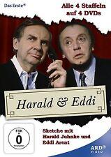 4 DVDs * HARALD & UND EDDI - ALLE 24 FOLGEN - JUHNKE , ARENT  # NEU OVP ^