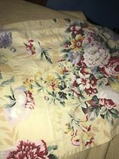Standard Queen Floral Cotton Pillow Sham Shabby Chic Flowers Bedding Linens