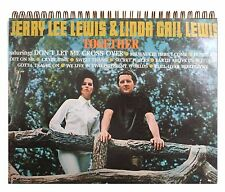 Jerry Lee Lewis & Linda Gail Lewis - Together FANS!Album Cover Notebook vintage
