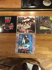 Kiss LASER DISC meets the phantom of the park +others very rare