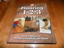 FLOORING 1-2-3 Expert Advice Design Installation Repair Floor Home Depot LN Book