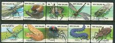 NEW ZEALAND....    1997  creepy crawlies  booklet stamps  set  used