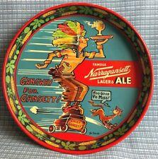 Vintage Beer Tray designed by Dr. Seuss Narragansett Lager & Ale