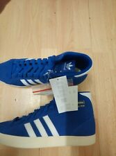 Adidas Basket Profi Royal/White Trainers SIZE 10  NEW WITH BOX RRP £89.99