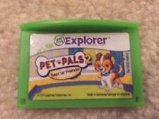LeapFrog Pet Pals 2 Best of Friends Game Cartridge Leapster Explorer LeapPad