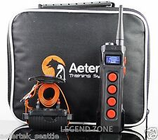 AETERTEK Waterproof  Rechargeable 1000 Meter  Remote Dog Training Shock Collar