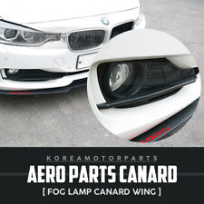 Aero Parts Fog Lamp Canard Wing Molding 2Pcs for for BMW 2012-2018 3series F30